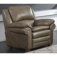 Кресло Arimax Clark коричневое
