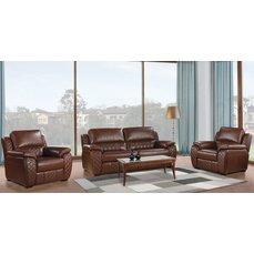 Комплект мягкой мебели Arimax Dakota коричневый