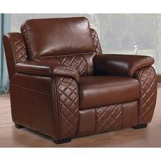 Кресло Arimax Dakota коричневое
