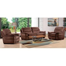 Комплект мягкой мебели Arimax Daytona кофейный
