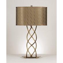 Настольная лампа с абажуром Rhonda L212184