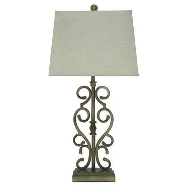 Настольная лампа с абажуром Amiel L369924