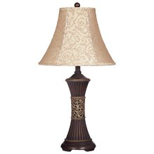 Настольная лампа с абажуром Mariana L372944