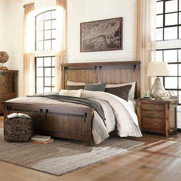 Двуспальная кровать Lakeleigh B718-54-56-96