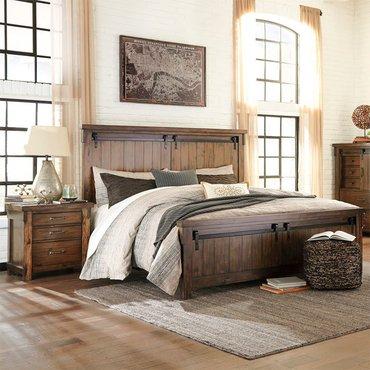 Двуспальная кровать Lakeleigh B718-58-56-97