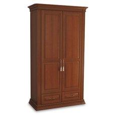 Шкаф 2-х дверный Омега Люкс с ящиками OLSH-02