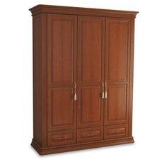 Шкаф 3-х дверный Омега Люкс с ящиками OLSH-03