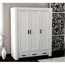 Шкаф 3-х дверный Магия чисел с ящиками