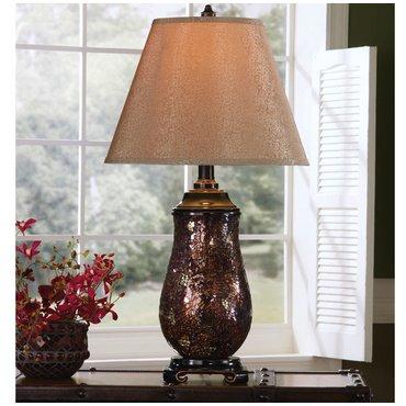Настольная лампа с абажуром Gayle L436504
