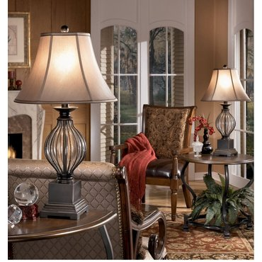 Настольная лампа с абажуром Ondreya L442234