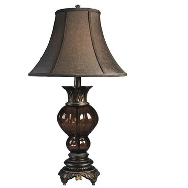 Настольная лампа с абажуром Donna L481654