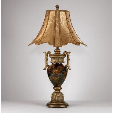 Настольная лампа с абажуром Ferrante L520934