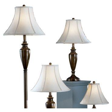 Настольные лампы с абажуром и торшер Caron L603186