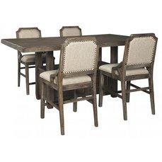 Барный стол со стульями D813-32-124