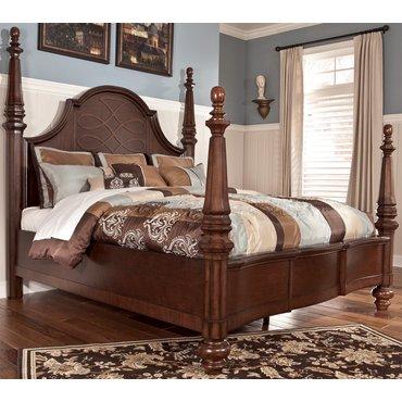 Деревянная кровать Flemingsburg Queen B699-54-57-96