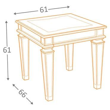 Кофейный стол Tessani T099-3